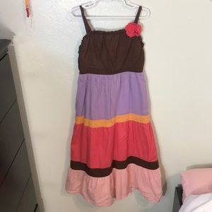 GYMBOREE Pink and Purple Casual Girls Dress